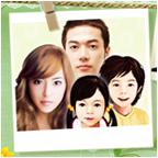 미래 가족 얼굴